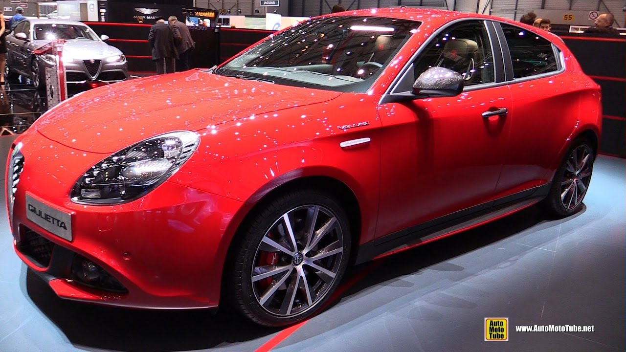 2017 alfa romeo giulietta veloce exterior and interior walkaround 2017 geneva motor show. Black Bedroom Furniture Sets. Home Design Ideas