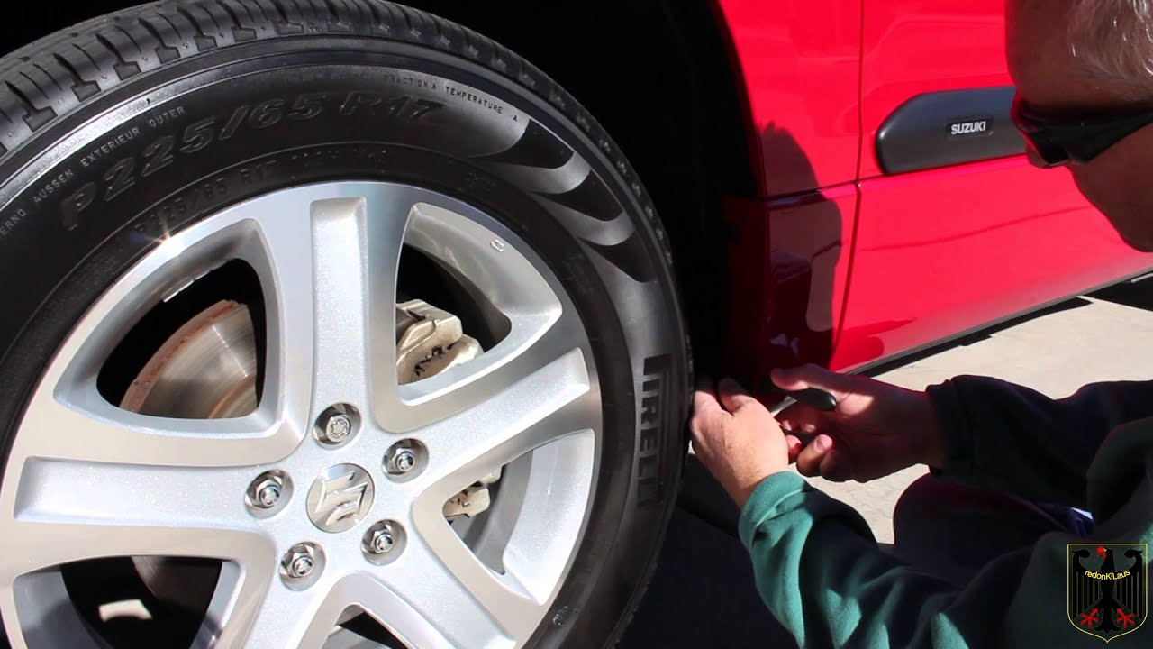 Suzuki Grand Vitara Front Mud Guard Installation