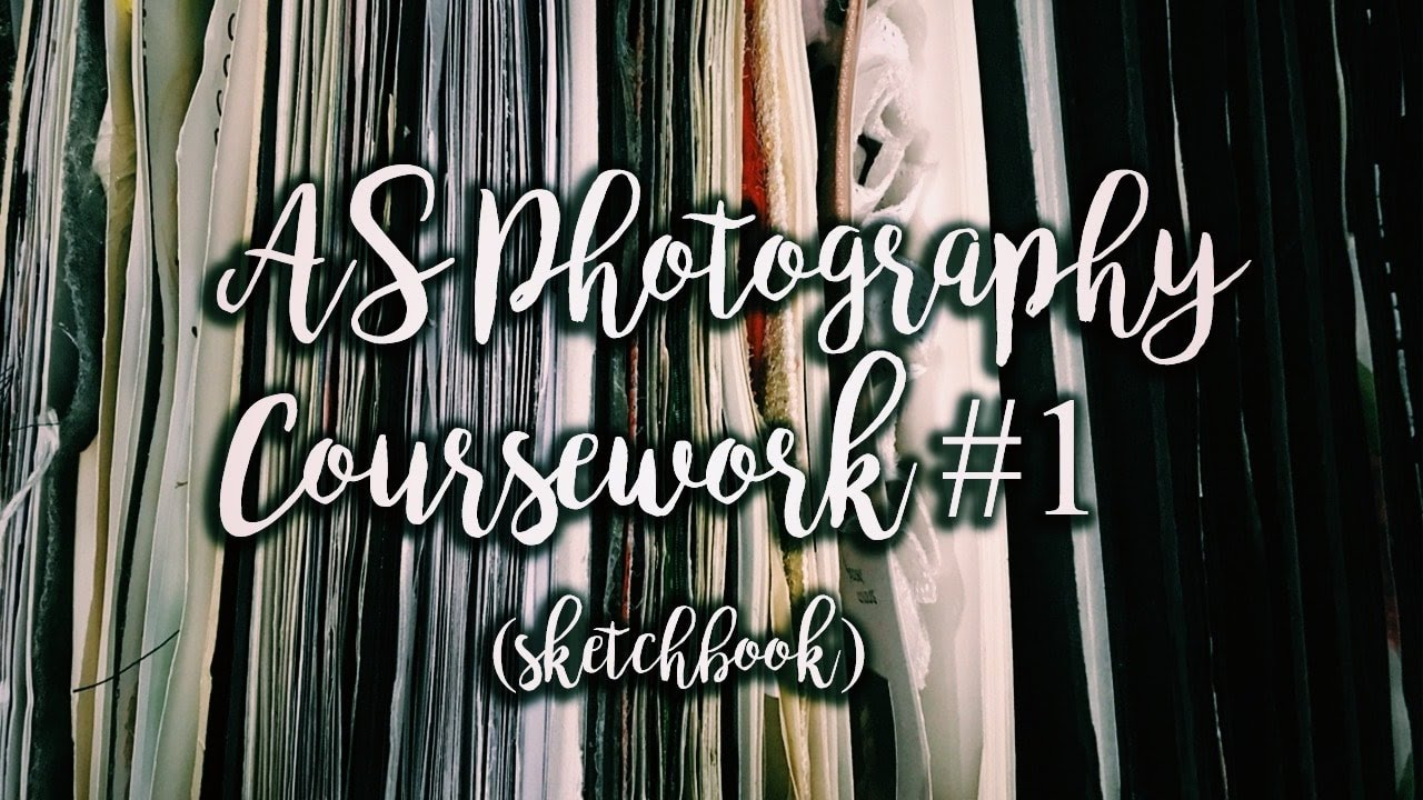 Need help with photography coursework?