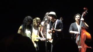 Butterfly Take The Music - Jason Mraz & Raining Jane - Hammersmith 8 February 2015