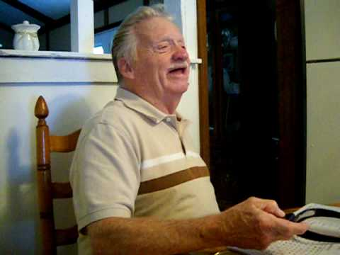 Funny Old Man Laughing