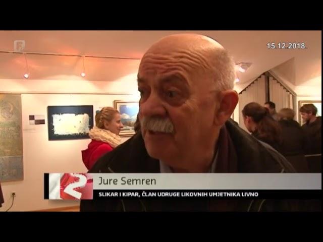 Skupna izložba Udruge likovnih umjetnika Livna
