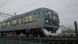【東京メトロ】東西線 15000系 構内試運転