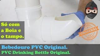 Bebedouro Cachorros Cães e Gatos Automático - Faça apenas com uma Boia - Original - PVC