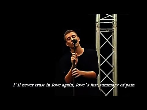Loic Nottet - Man down LYRICS (own song, live)