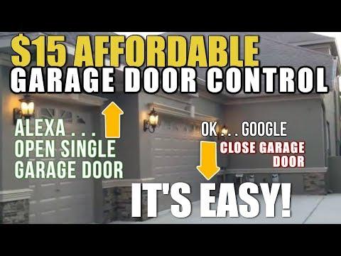 Smart Garage Door Opener   $15   eWeLINK Smart Control for Garage Doors   with ALEXA & Google HOME