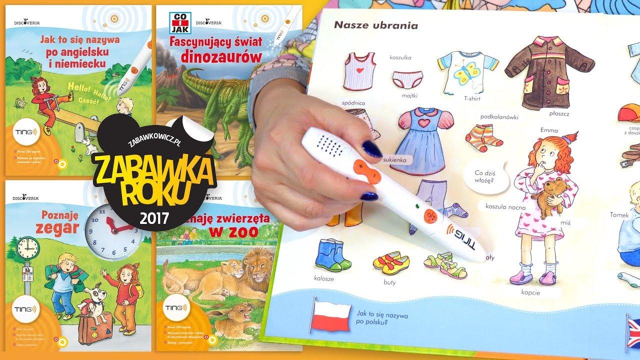 Seria interaktywnych książek z długopisem TING, Empik