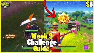 Follow The Treasure Map In Shifty Shafts + Get Trick Points | S5 Week 9 Challenge Guide - Fortnite