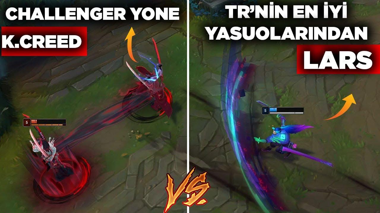 YONE VS YASUO(LARS)! CHALLENGER YONE VS ORTADOĞU/BALKANLARIN EN İYİ YASUOLARINDAN LARS