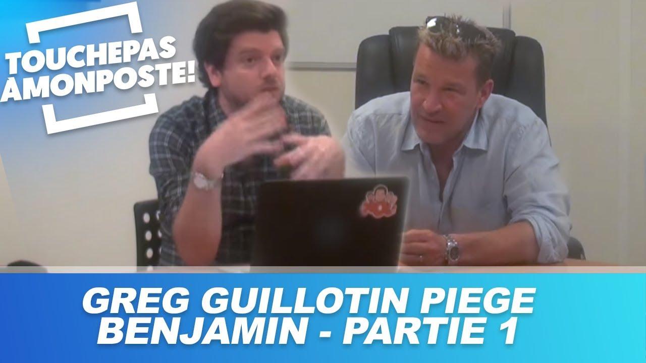 Greg Guillotin piège Benjamin Castaldi dans TPMP - Partie 1