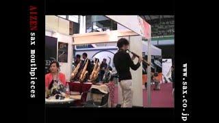 Alec Haavik Plays AIZEN SSSO soprano saxophone mouthpiece Music China 2011