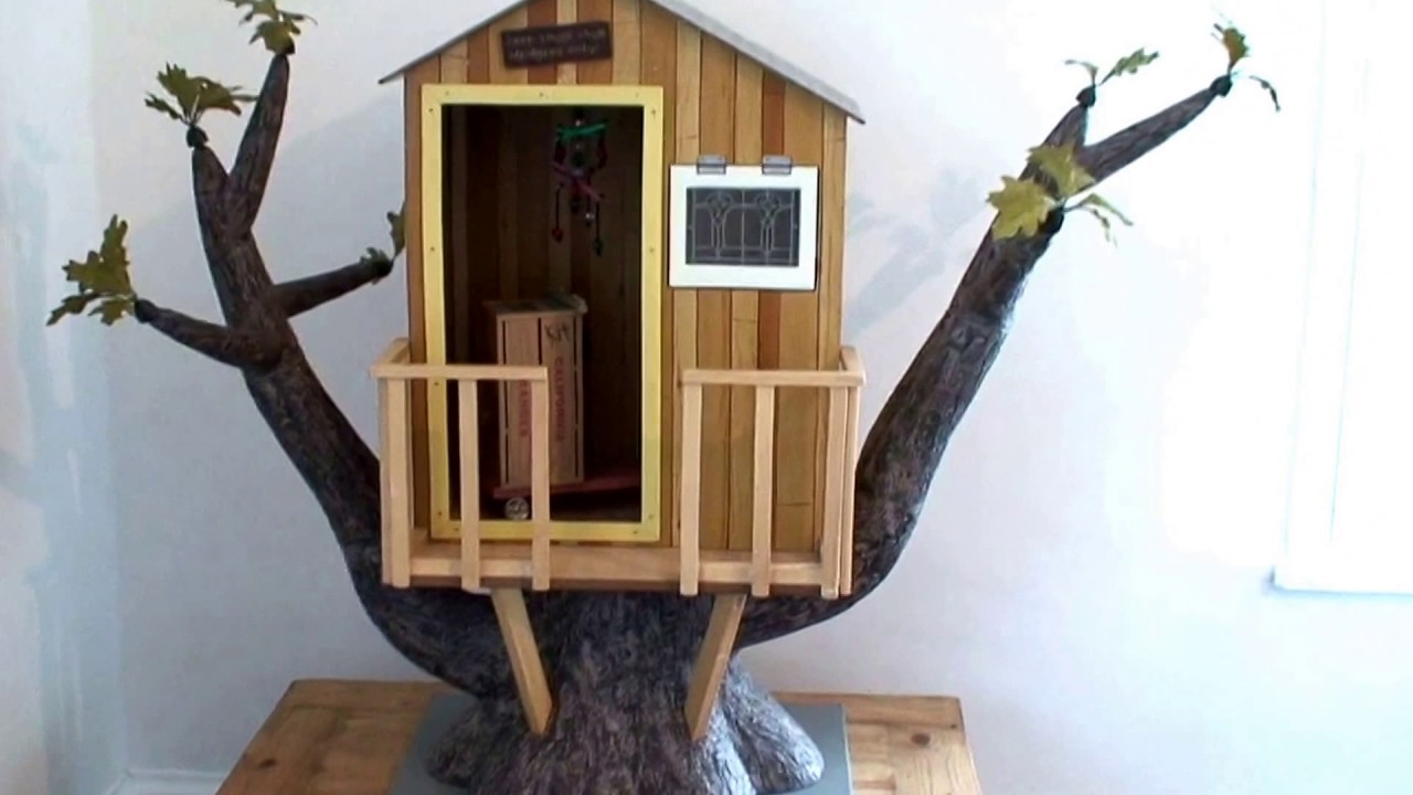 American girl Kits tree house
