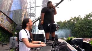 Video Steve Aoki & Carnage play ZAZA @ Tomorrowland 2014 download MP3, 3GP, MP4, WEBM, AVI, FLV Juli 2018