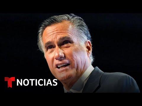Abuchean a Mitt Romney en la Convención Republicana de Utah | Noticias Telemundo