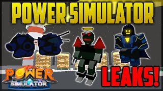Roblox: LEAKS IN POWER SIMULATOR! SIDE QUESTS, PETS AND MORE! | Power Simulator