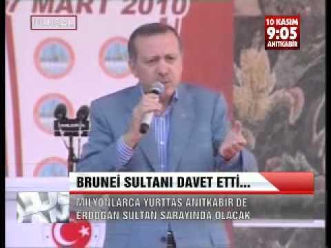 ERDOĞAN, BRUNEİ SULTANI' NI KIRAMADI