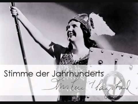 """Kirsten Flagstad """"Immolation Scene"""" Götterdämmerung Scala 1950"""