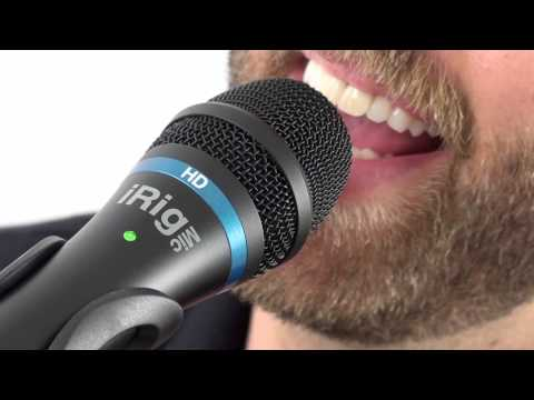 iRig Mic HD - The first handheld digital microphone for everyone