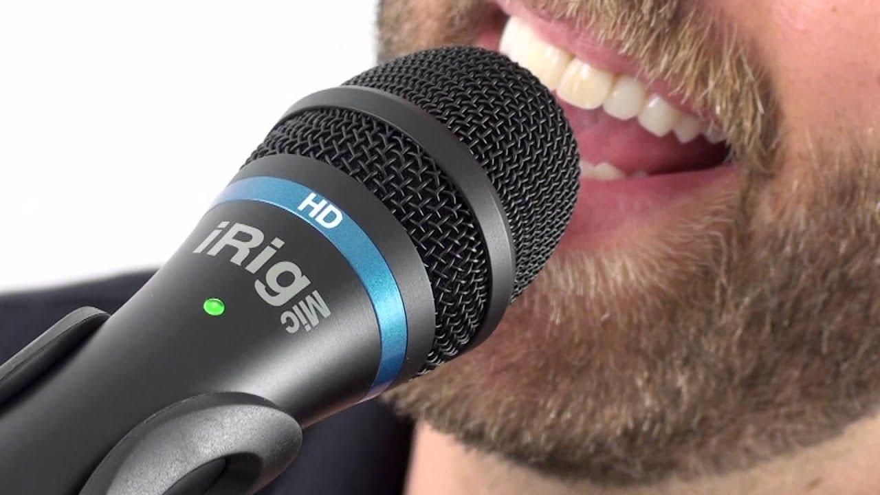 irig mic hd the first handheld digital microphone for everyone