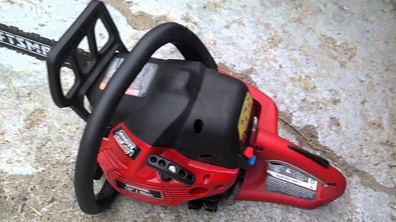 craftsman 40cc 18 youtube rh youtube com craftsman 18 40cc chainsaw parts Craftsman 3.7 18 Inch Chainsaw Bar