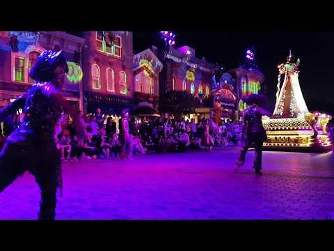 Hong Kong Disneyland - Halloween Parade Villains Night Out! Chapter 3