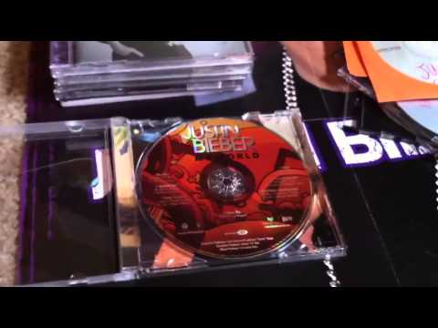 Justin Bieber Cd Collection
