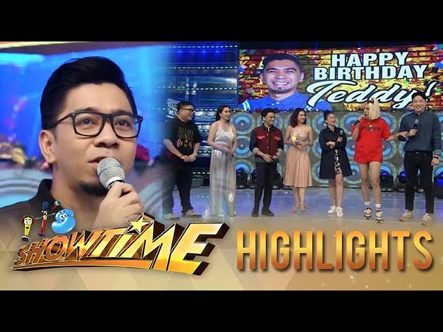 It's Showtime: It's Showtime family greets Teddy happy birthday