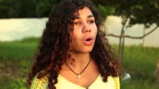 Biritinga-Ba. Exemplo Conheça uma jovem JAMILE vendedora de banana que se destaca pelo amor à Poesia