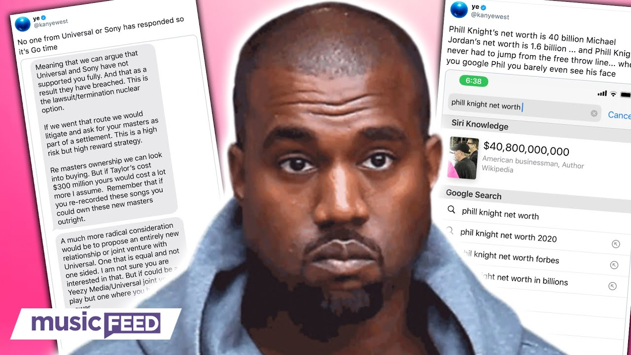 Kanye West BOYCOTTING Sony & Universal Music Labels!