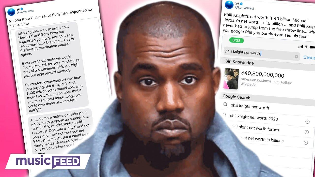 Kanye West BOYCOTTING Sony & Universal Music Labels!