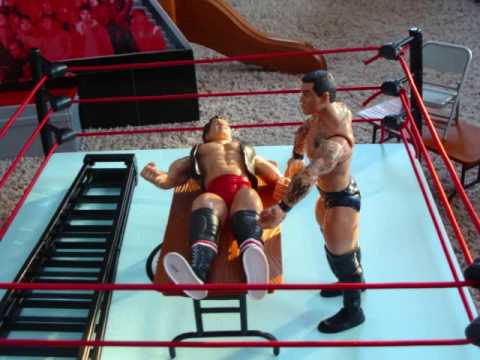 WWE ACTION FIGURE TABLE MATCH - YouTube