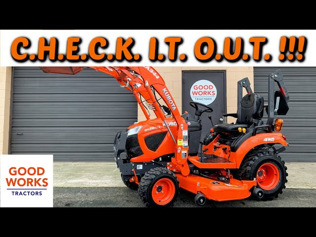 Oh My! The New Kubota BX2680 Tractor Review! BIG