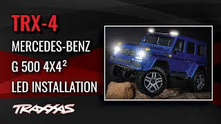 LED Light Kit Installation | TRX-4 Mercedes-Benz G 500 4x4²