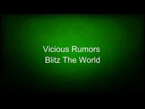 Vicious Rumors - Blitz The World (lyrics)