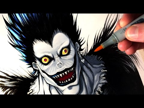 Thumbnail: Let's Draw RYUK from DEATH NOTE - FAN ART FRIDAY