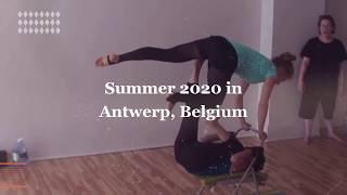 AcroYoga Montreal Teacher Training in Antwerp 2020