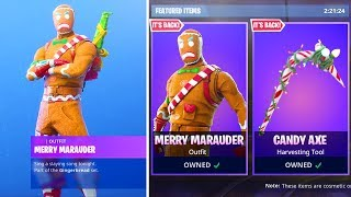 The MERRY MARAUDER Skin Returns in Fortnite..