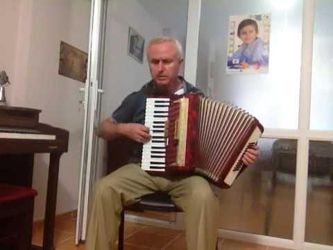 Akordeon Dersi- Mozart Küçük bir gece müziği - Eine kleine nachtmusik.