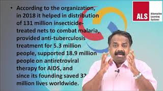 Global Fund to Fight AIDS, Tuberculosis and Malaria YouTube Videos