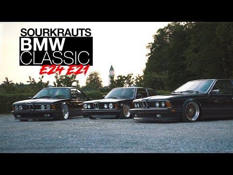 Wörthersee Short Cut BMW Classic Trio e24 e21 e24