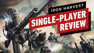 Iron Harvest Single-Player Review (Video Game Video Review)