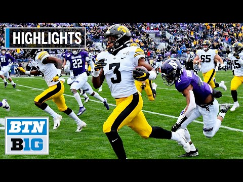 Highlights: Hawkeyes Shut Out Wildcats | Iowa at Northwestern | Oct. 26, 2019
