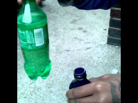 YoungHustle Pouring Up A4 Of that Green Shit