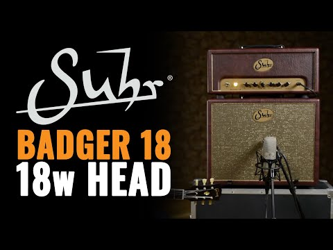 Suhr Badger 18 Tube Amp Head | CME Gear Demo