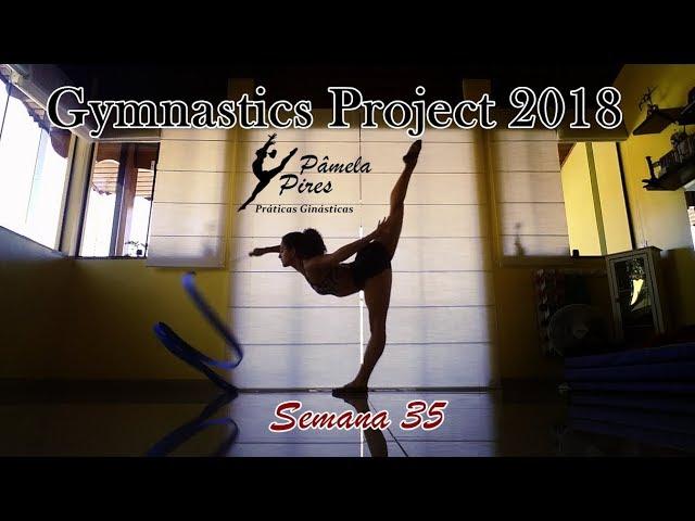 [Gymnastics 2018] Week 35 - Trying Rythmic Gymnastics