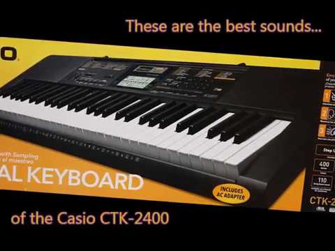 casio ctk 2400 sound quality demo no talk just simple riffs and loops youtube. Black Bedroom Furniture Sets. Home Design Ideas