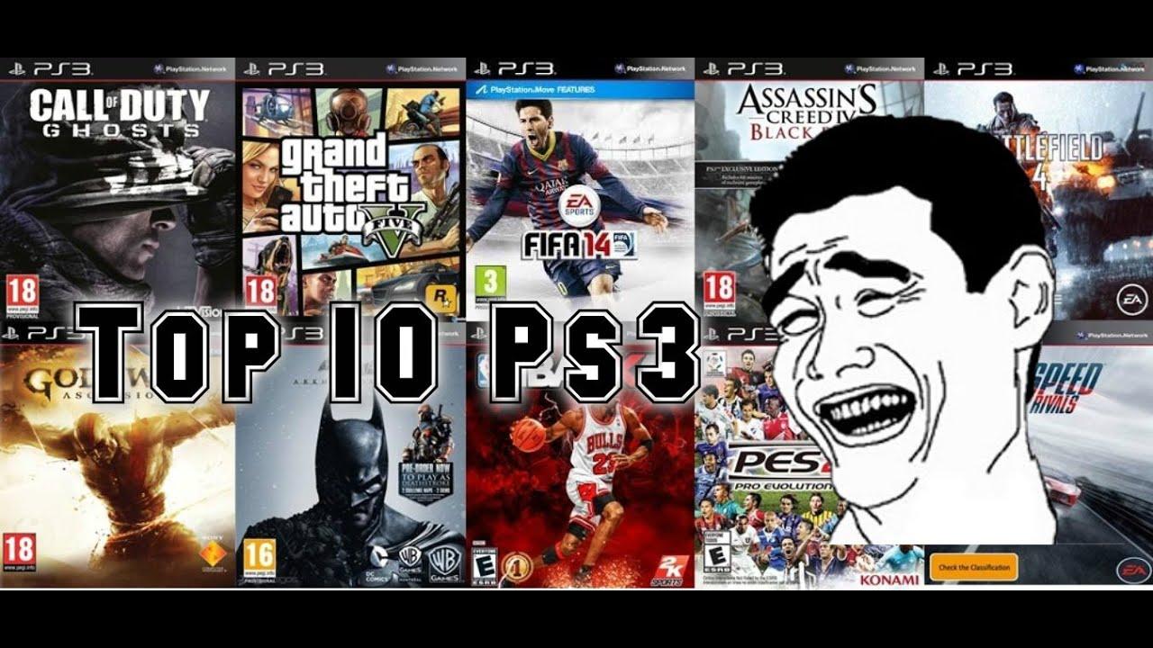 Top 10 De Los Mejores Juegos Para Ps3 Recomendados Youtube