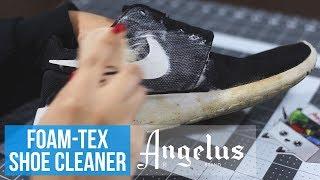 Angelus Foam-Tex Sneaker Cleaning Kit   Pump, Scrub, And Dry