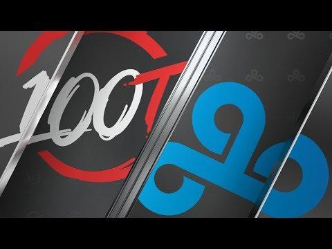 100 vs C9 - Week 4 Day 1  LCS Summer Split  100 Thieves vs Cloud9 2019
