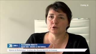 Voisins-le-Bretonneux : la place des Douves bientôt en travaux